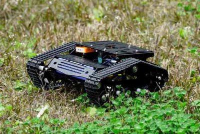 Yuewalker Robot platform buiten