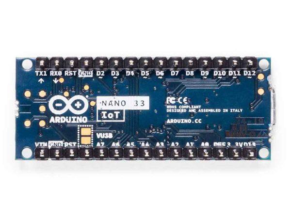 Arduino Nano 33 IoT onderkant