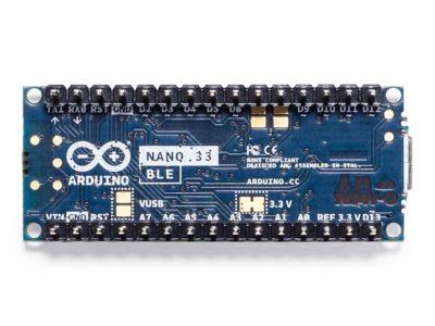 Arduino Nano 33 BLE onderkant