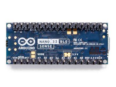 Arduino Nano 33 BLE Sense onderkant