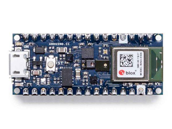 Arduino Nano 33 BLE Sense bovenkant