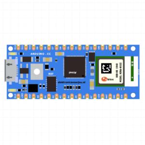 Arduino Nano 33 IoT Fritzing