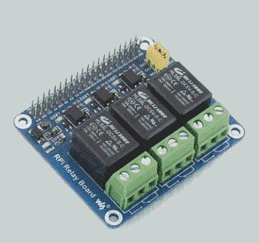 Raspberry Pi Relaisplatine p2