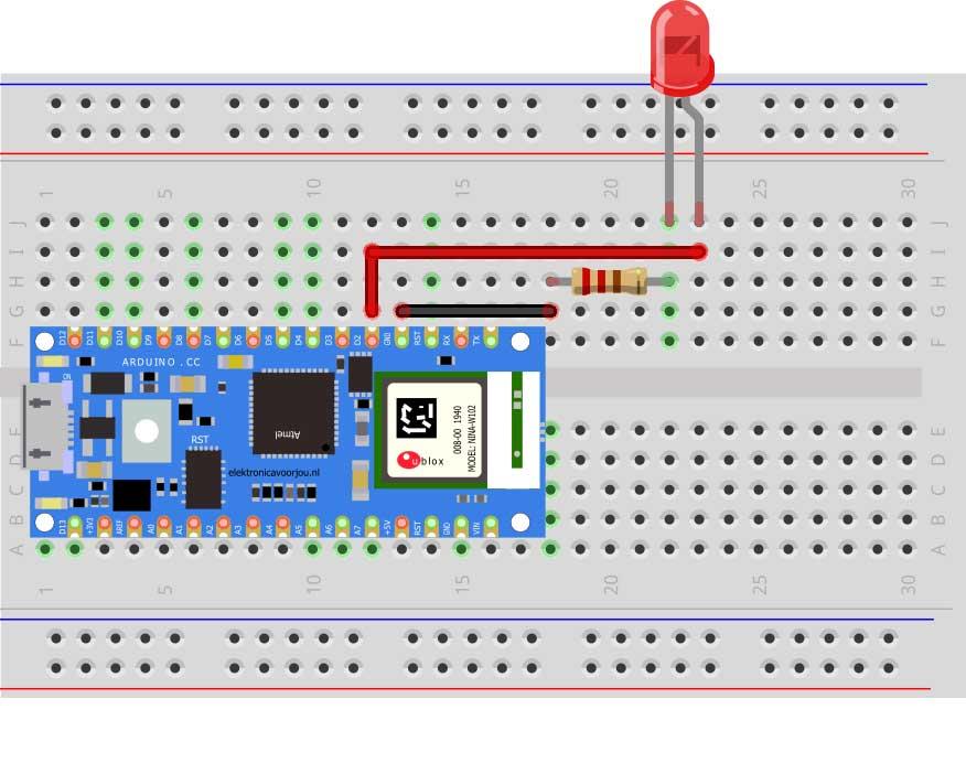 Arduino IoT lampje