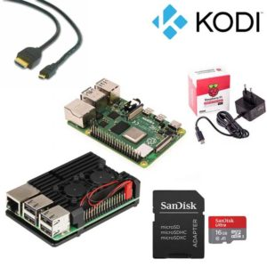 Raspberry Pi 4 Kodi kit
