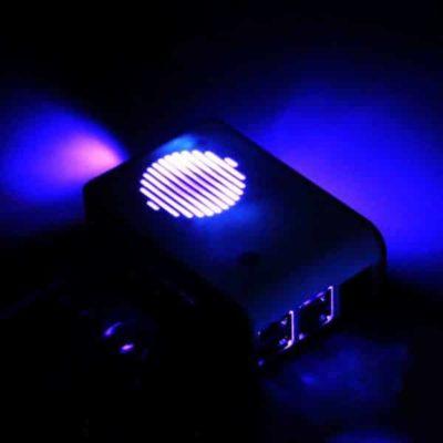 Raspberry Pi boîtier avec ventilateur LED