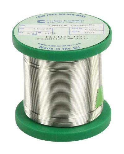 Soldeer tin 0,75mm 250gram