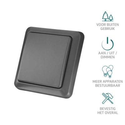 AGST-8800 Draadloze Wandschakelaar Voor Buiten KAKU