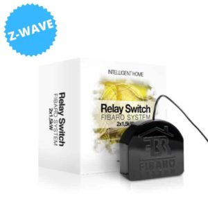 Fibaro FGS-222 power relay Zwart