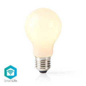 Wi-Fi Smart LED-Lamp | E27 | A60 | 5 W | 500 lm | Wit