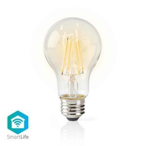 Wi-Fi Smart LED-Lamp | Filament | E27 | Wit | A60