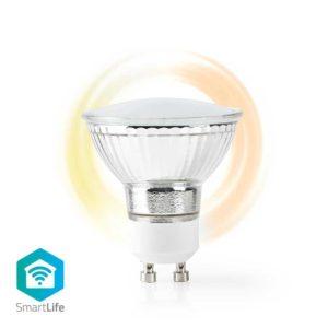 Wi-Fi Smart LED-Lamp | Warm Wit | GU10 | Dim naar Extra Warm Wit (1800 K)