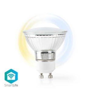 Wi-Fi Smart LED-Lamp | Warm tot Koel Wit | GU10
