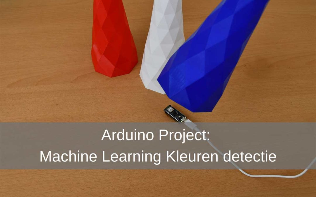 Arduino project: Machine-learning Kleuren detectie