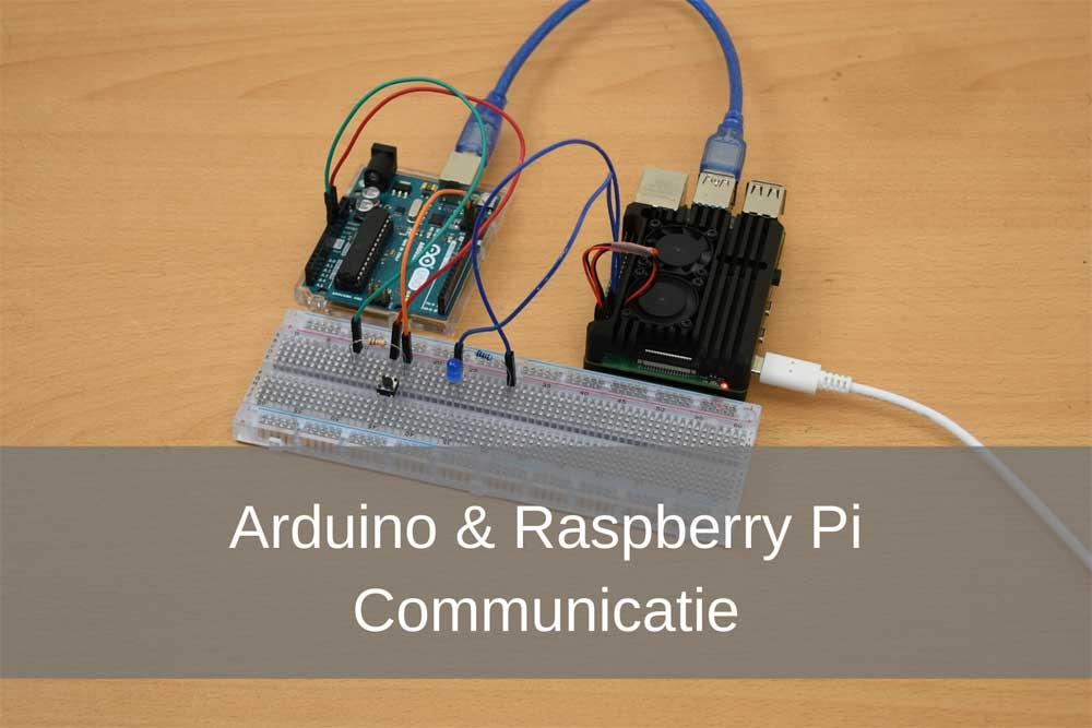 Hier zie je ons Arduino Raspberry Pi communicatie project.