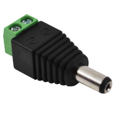 Male 2.1 * 5.5mm for DC Power Jack Adapter Connector Plug