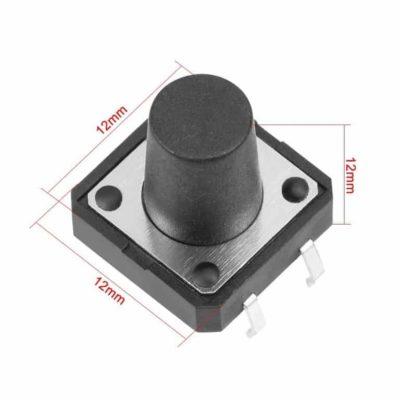 Push button 12x12x12mm size