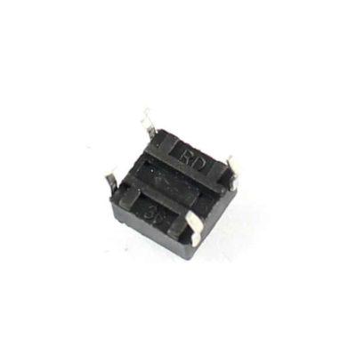 Push button 12x12x7,3mm onderkant