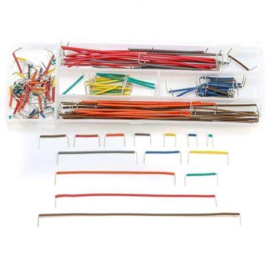 Kit de fil de pontage réformé 140PCS Ensemble de câbles de cavalier de planche à pain sans soudure