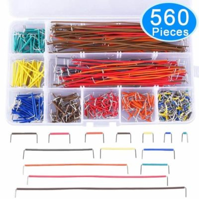 560 Pieces Jumper Wire Kit 14 Lengths Assorted Preformed Breadboard