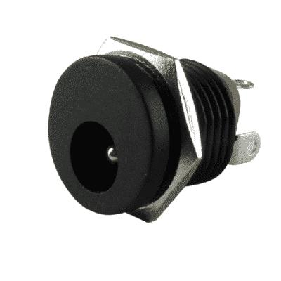 2.1 mm DC-Buchse für Schalttafelmontage