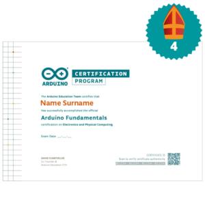 Arduino Fundamentals examen sinterklaas top 10