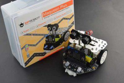 Maqueen robot met verpakking