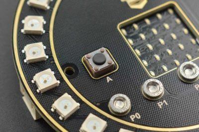micro: Kreisförmige RGB-LED-Erweiterungskarte