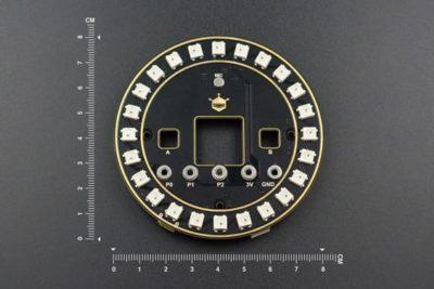 Größe der Micro: Bit RGB LED-Erweiterungskarte
