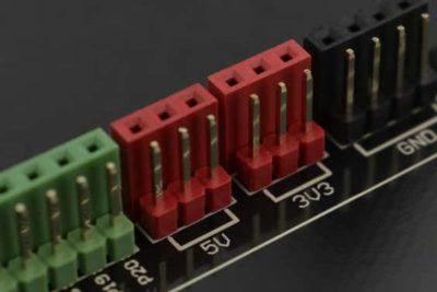 microbit breadboard pins