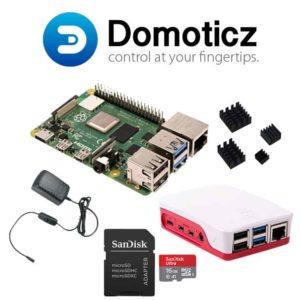 Raspberry pi 4 Domoticz starter kit