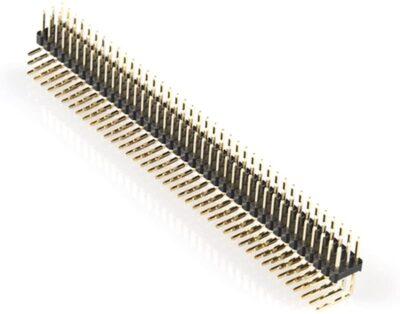 Angle d'en-tête 2X40 broches 90 degrés