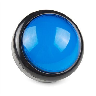 100mm arcade knop blauw