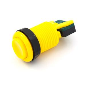 Concave knop geel
