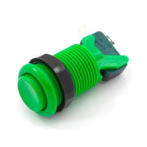 Concave knop groen