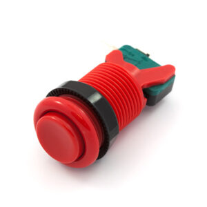 Concave knop rood