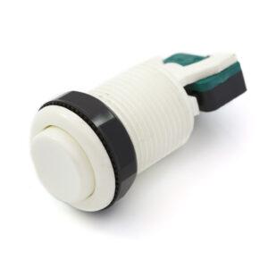 Concave knop wit
