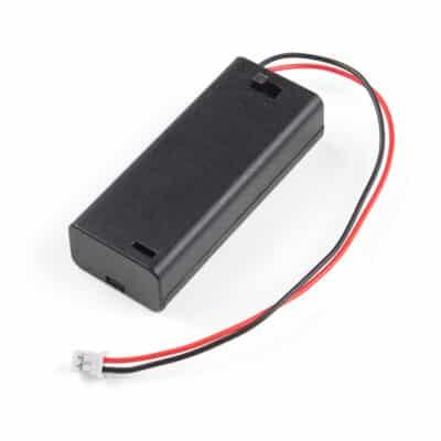 2XAAA battery holder JST Connector