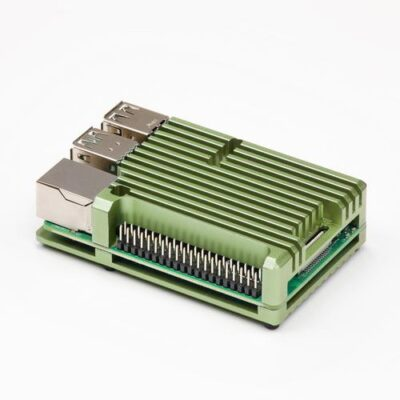 Raspberry Pi 4 Heatsink case groen