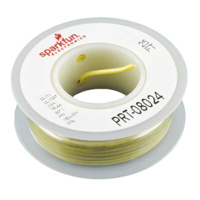 Hook up wire yellow
