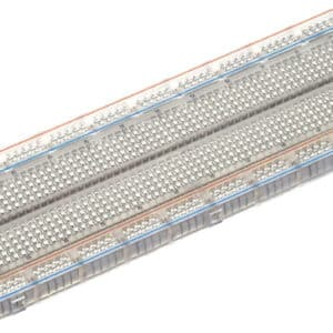 830 tie points breadboard transparant