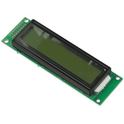 20x2 LCD-Anzeige
