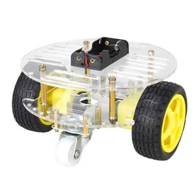 2wd mini robot