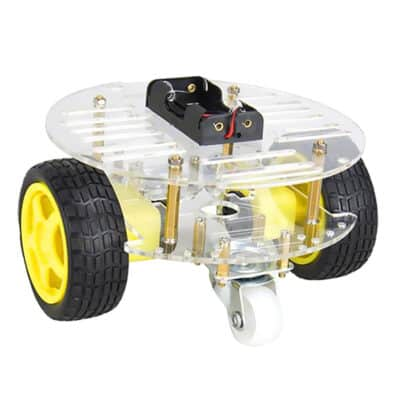 robot chassis 2wd