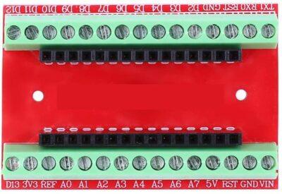 Haut du bouclier IO Arduino Nano