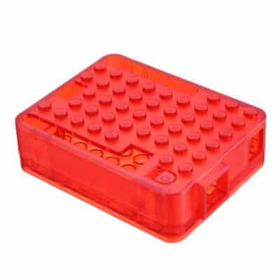 Arduino Uno bubbel behuizing rood
