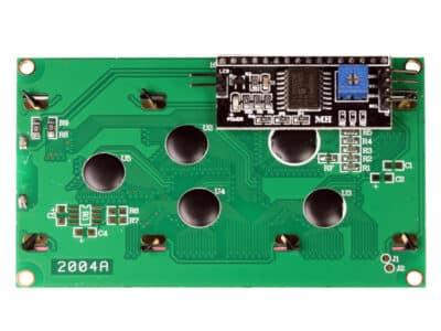 I2C LCD-Anzeige 20X4