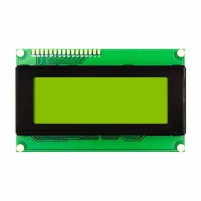 2004 LCD display Yellow Green