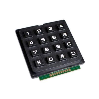 4X4 Tastatur schwarz