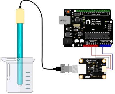 Ph sensor with Arduino
